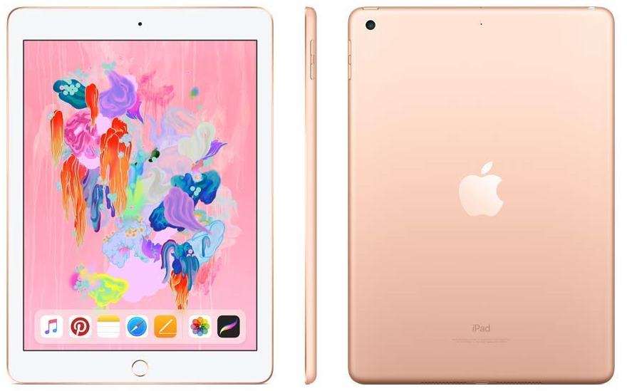 Apple iPad 7 Wi-Fi 32Gb Gold MW752RU/A EAC